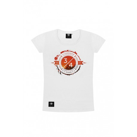 T-SHIRT SUNSET White