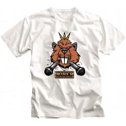 T-shirt BOBER Biała